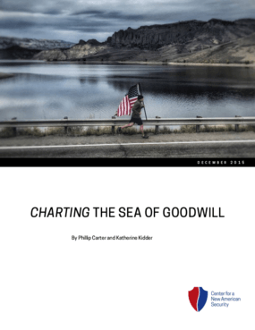Charting the Sea of Goodwill