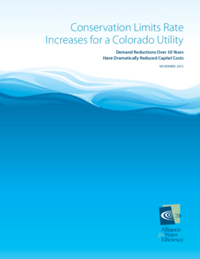 Conservation Helps Limit Rate Increases for a Colorado Utility