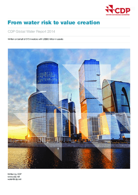From Water Risk to Value Creation, CDP Global Water Report 2014