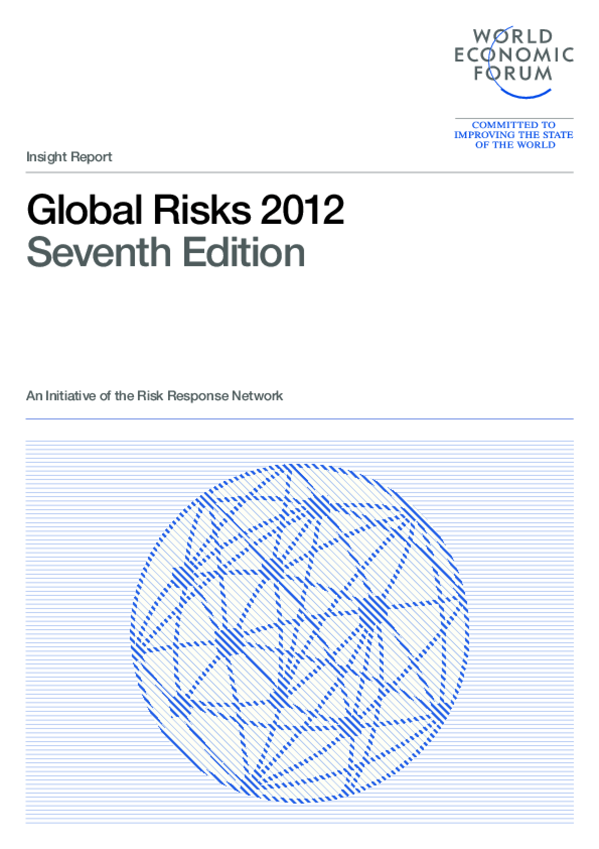 Global Risks 2012, Seventh Edition