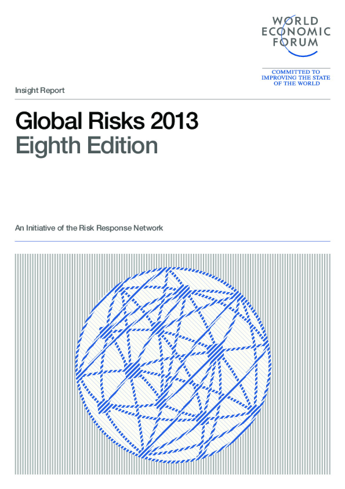 Global Risks 2013, Eighth Edition
