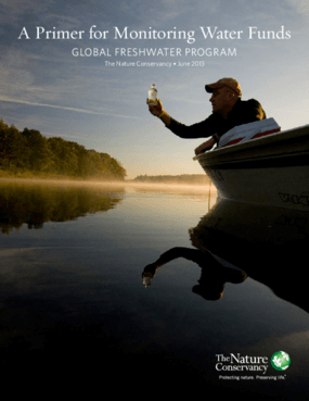 A Primer for Monitoring Water Funds