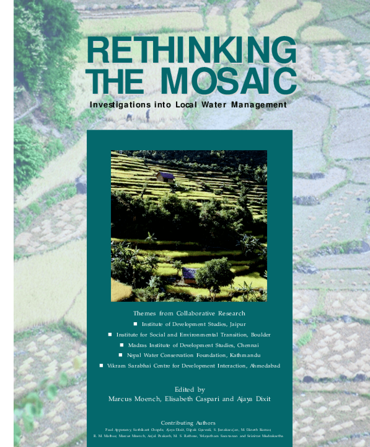 Rethinking the Mosaic: Investigations into Local Water Management