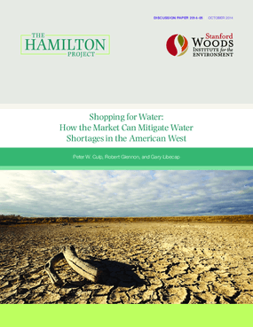 Shopping for Water: How the Market Can Mitigate Water Shortages in the American West