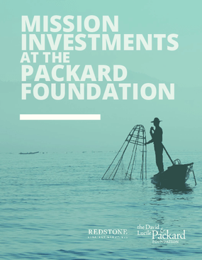 Mission Investments At The Packard Foundation