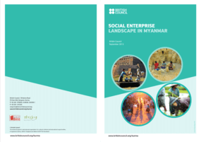 Social Enterprise Landscape in Myanmar