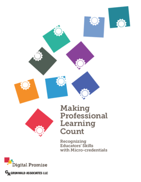 Making Professional Learning Count: Recognizing Educators' Skills With Micro-Credentials