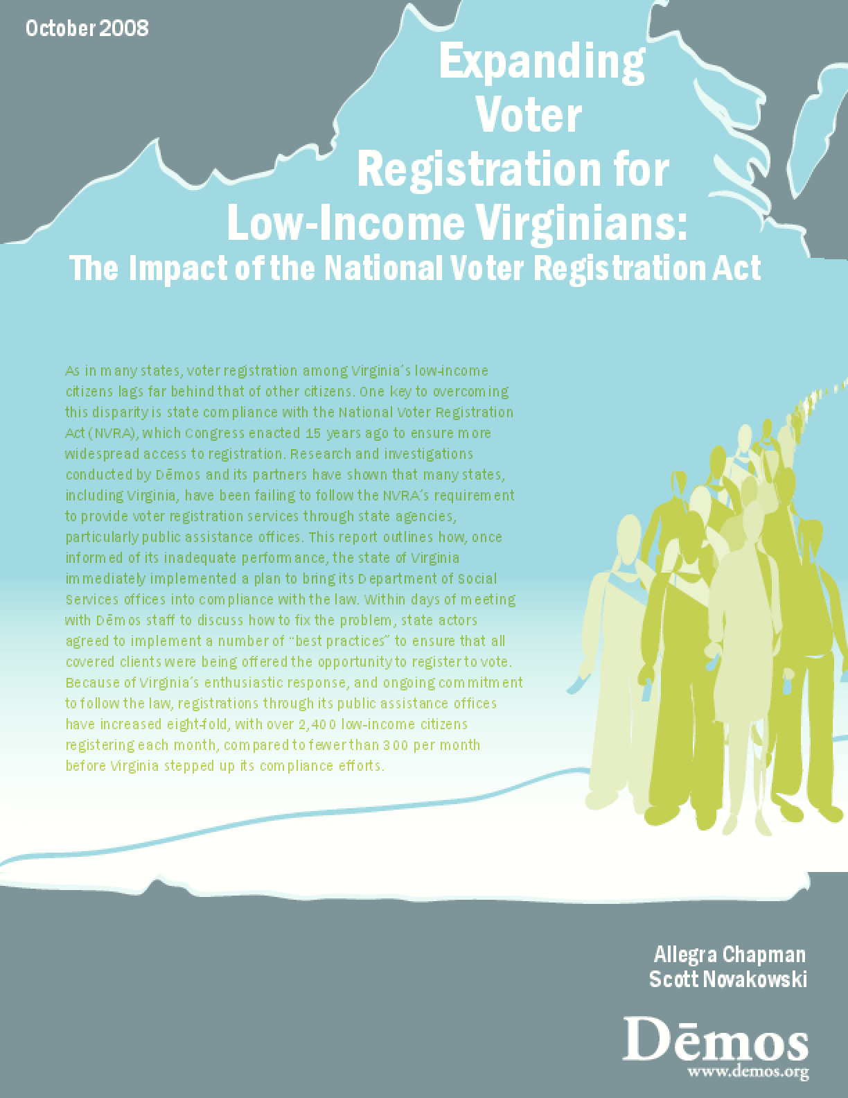 Expanding Voter Registration for Low-Income Virginians: The Impact of the National Voter Registration Act