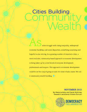 Cities Building Community Wealth