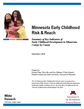 Minnesota Early Childhood Risk and Reach