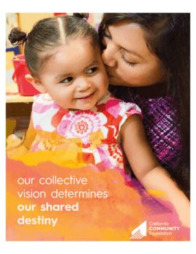 California Community Foundation 2014 - 2015 Annual Report
