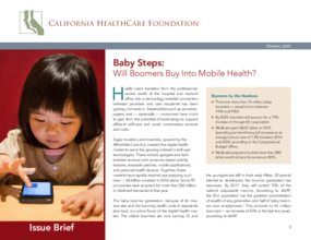 Baby Steps: Will Boomers Buy Into Mobile Health?
