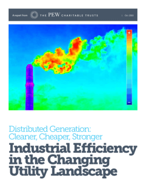 Distributed Generation: Cleaner, Cheaper, Stronger - Industrial Efficiency in the Changing Utility Landscape