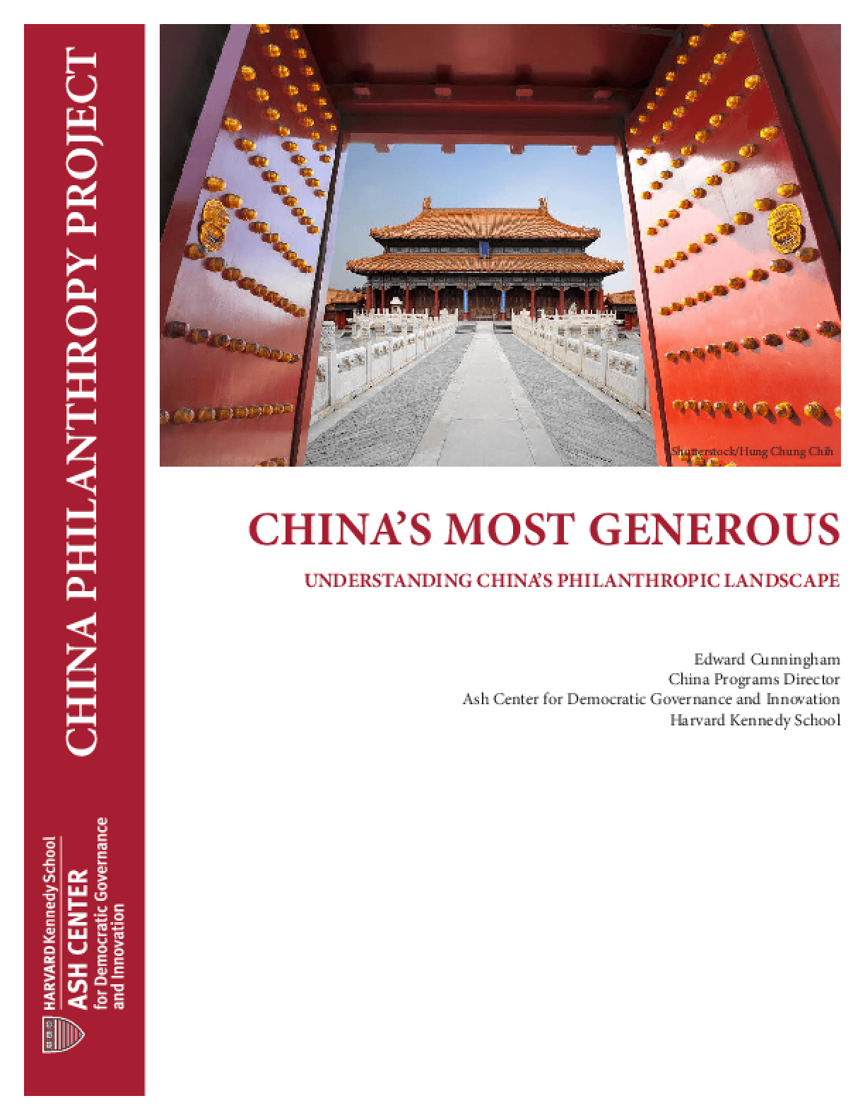 China's Most Generous: Understanding China's Philanthropic Landscape