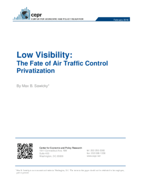 Low Visibility: The Fate of Air Traffic Control Privatization