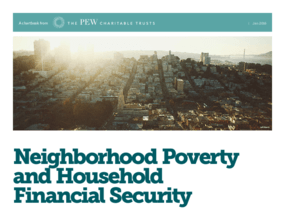 Neighborhood Poverty and Household Financial Security