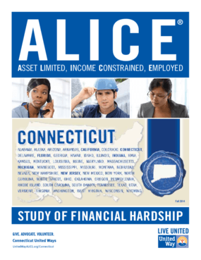 ALICE: Study of Financial Hardship-Connecticut