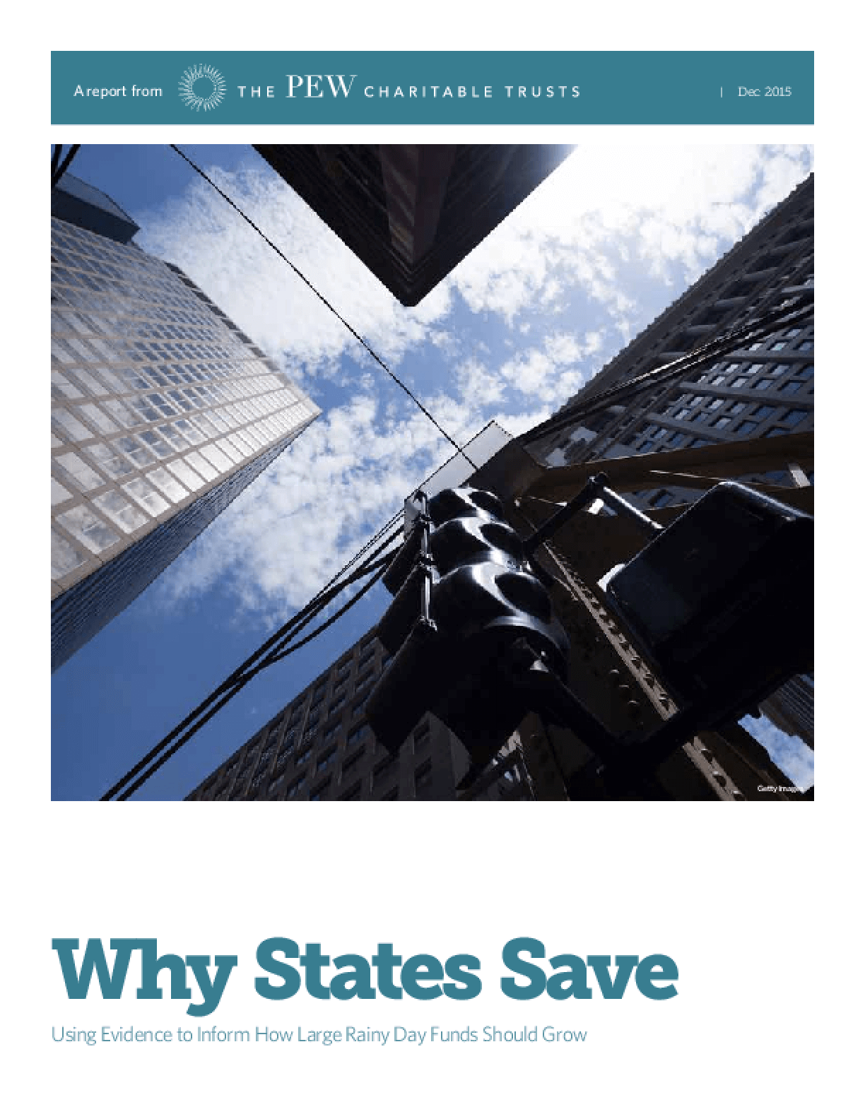 Why States Save: Using Evidence to Inform How Large Rainy Day Funds Should Grow