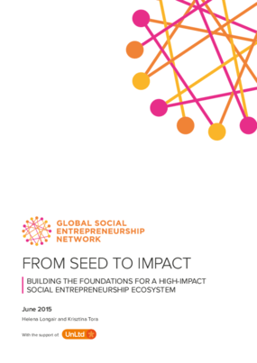 From Seed to Impact: Building the Foundations for a High-Impact Social Entrepreneurship Ecosystem