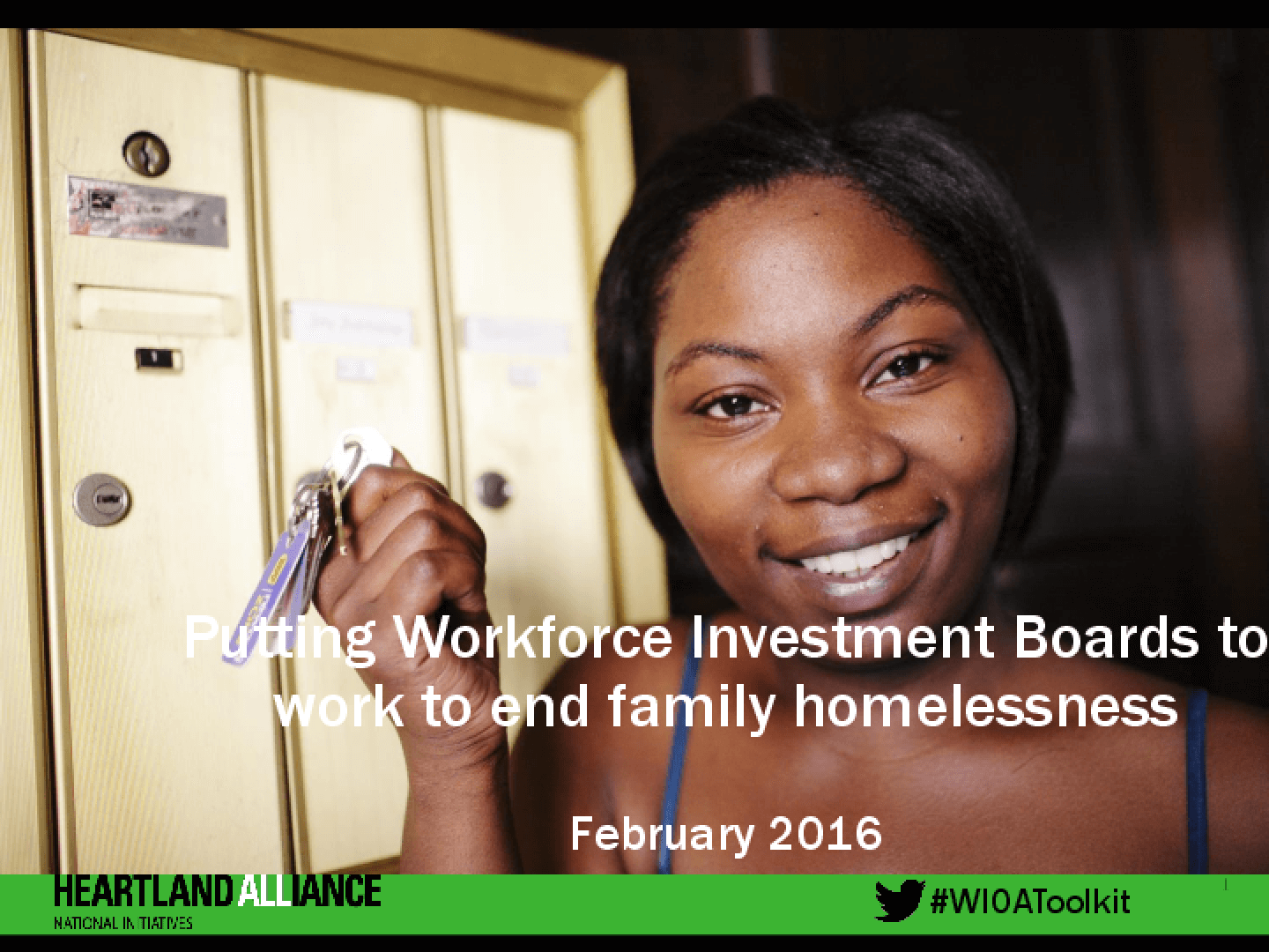 Putting Workforce Investment Boards to Work to End Family Homelessness
