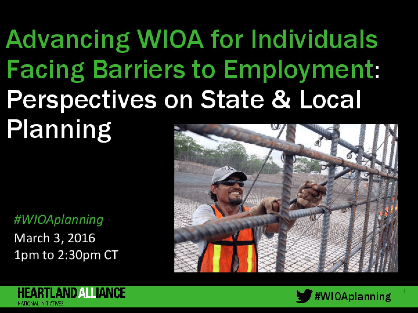 Advancing WIOA for Individuals Facing Barriers to Employment: Perspectives on State and Local Planning