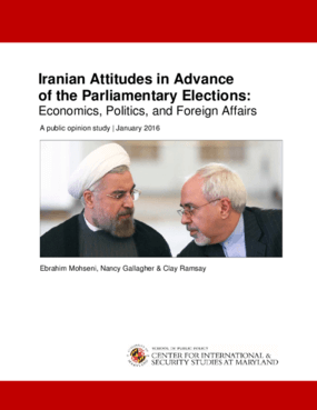 Iranian Attitudes in Advance of the Parliamentary Elections: Economics, Politics, and Foreign Affairs