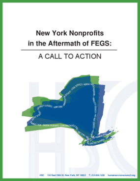 New York Nonprofits in the Aftermath of FEGS: A Call to Action
