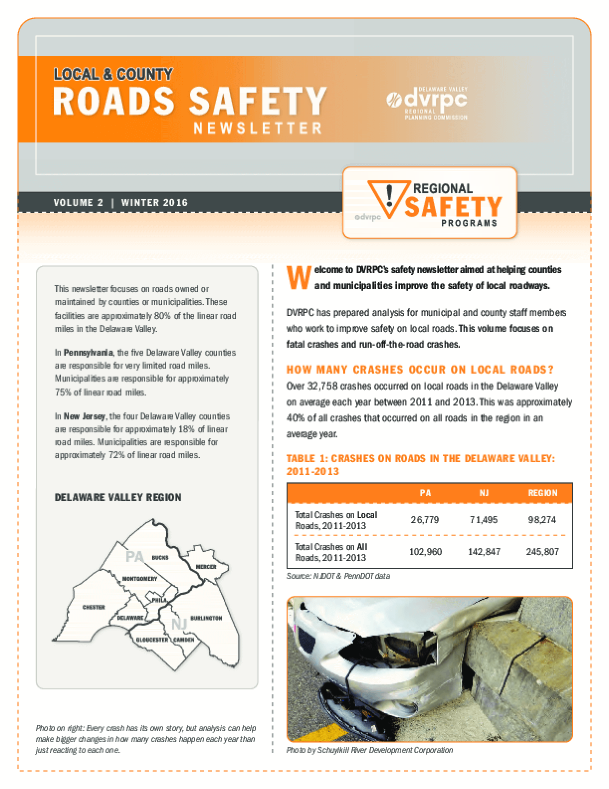 Local & County Roads Safety Newsletter