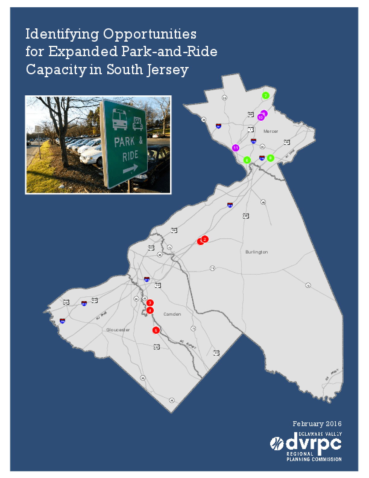 Identifying Opportunities for Park and Ride Capacity in South Jersey