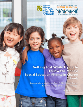 Getting Lost While Trying to Follow the Money: Special Education Finance in Charter Schools
