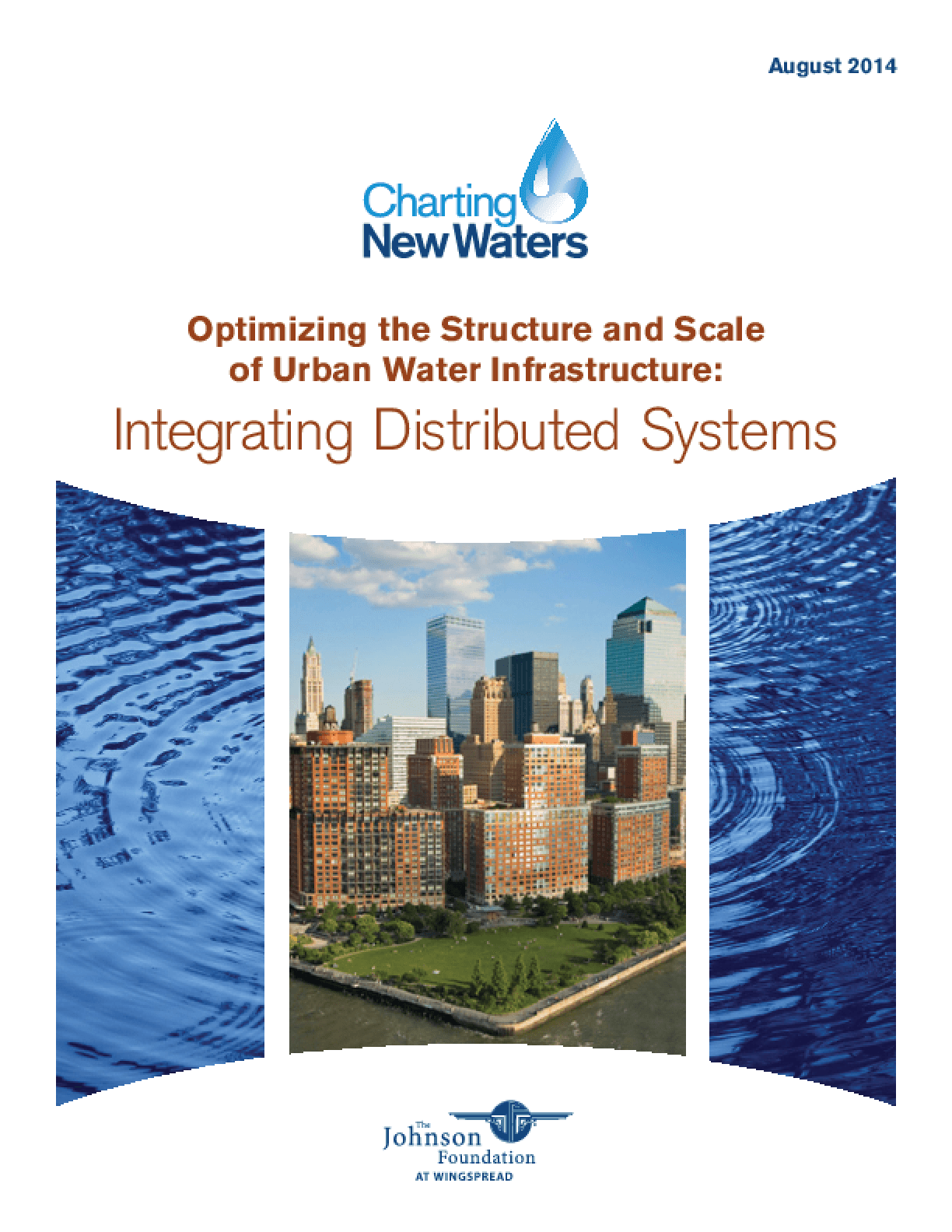 Optimizing the Structure and Scale of Urban Water Infrastructure: Integrating Distributed Systems