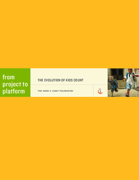From Project to Platform: The Evolution of Kids Count