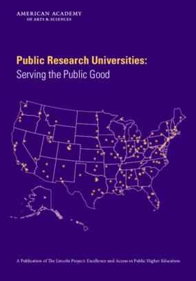 Public Research Universities: Serving the Public Good