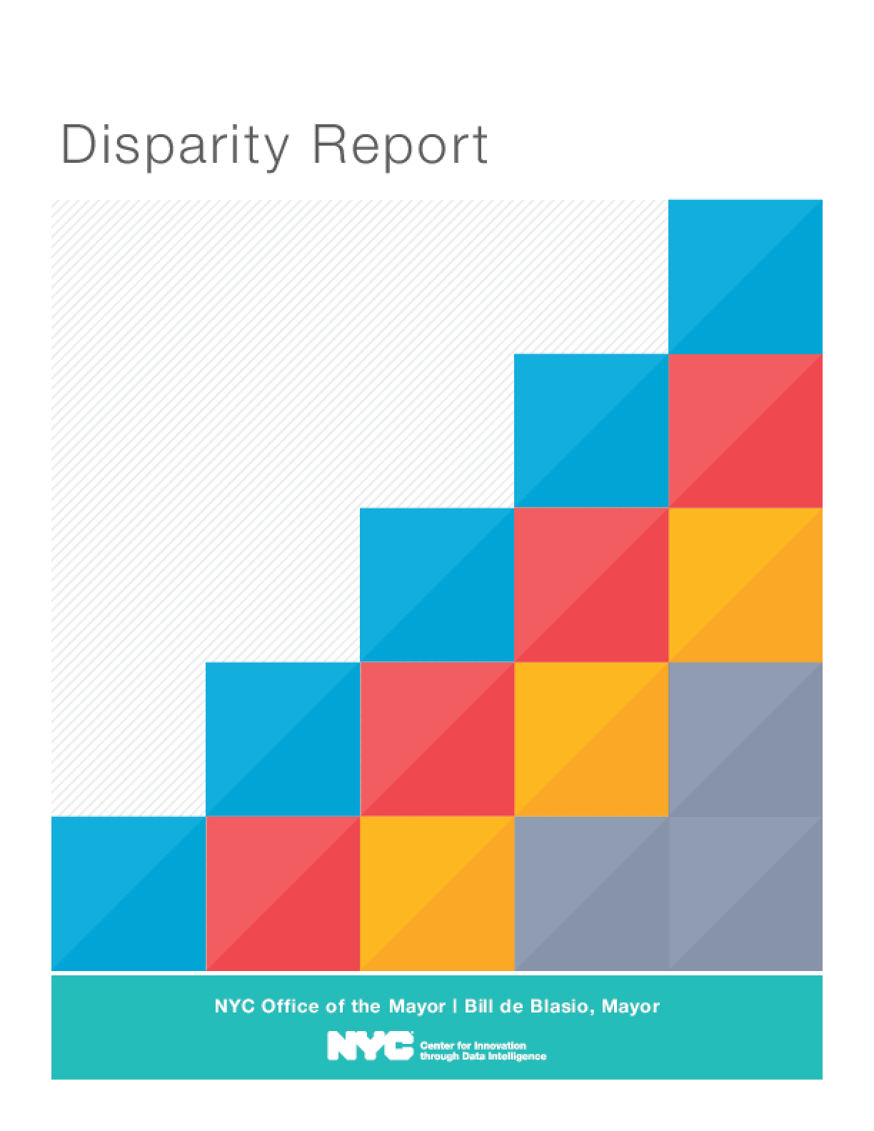 Disparity Report