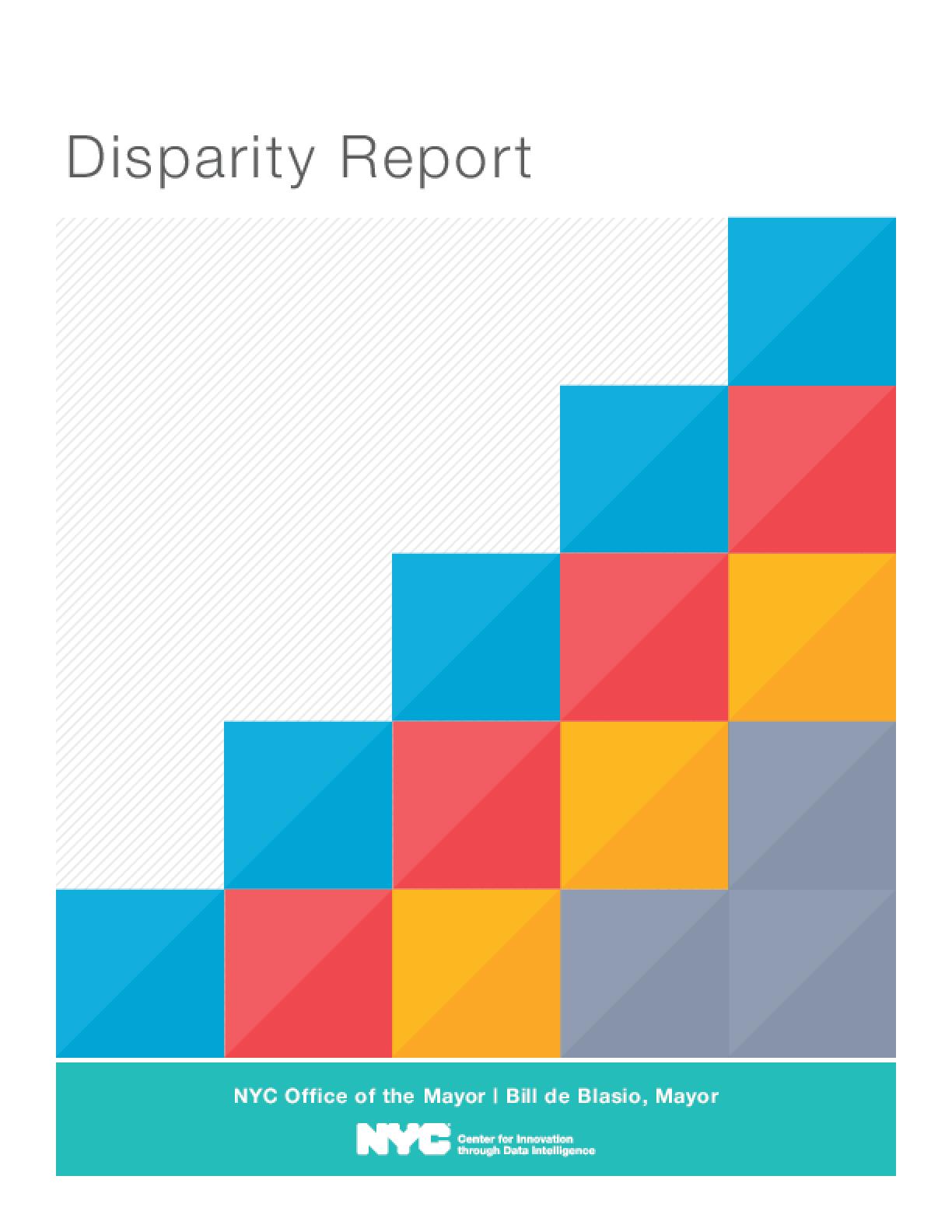 Disparity Report