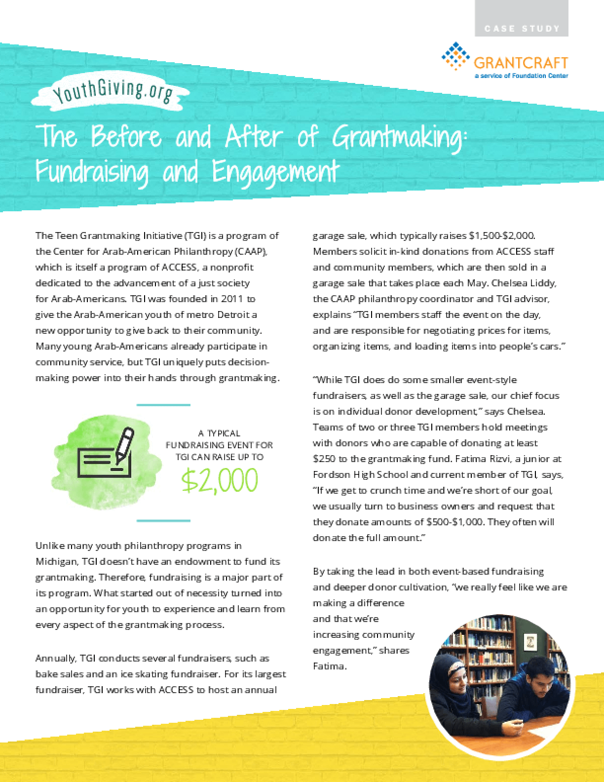 The Before and After of Grantmaking: Fundraising and Engagement