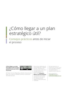 ¿Cómo llegar a un plan estratégico útil? Consejos prácticos antes de iniciar el proceso