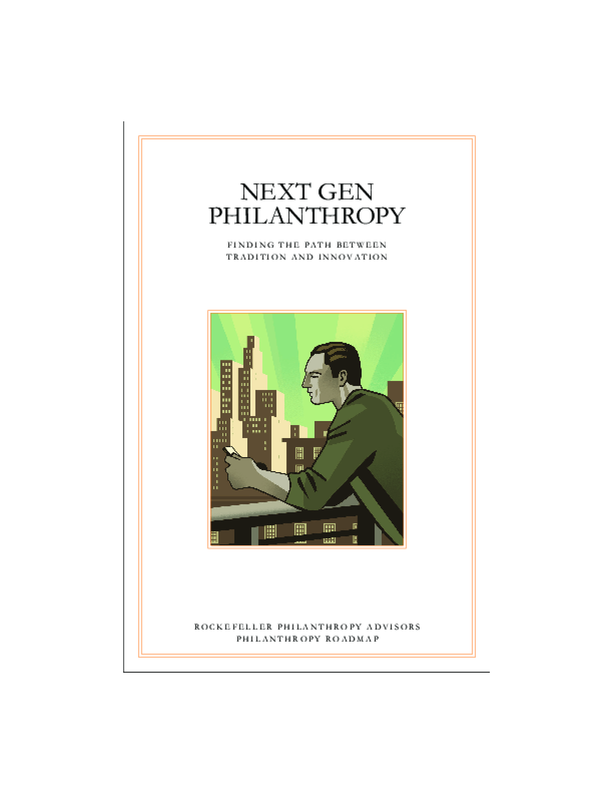 Next Gen Philanthropy: finding the path between tradition and innovation