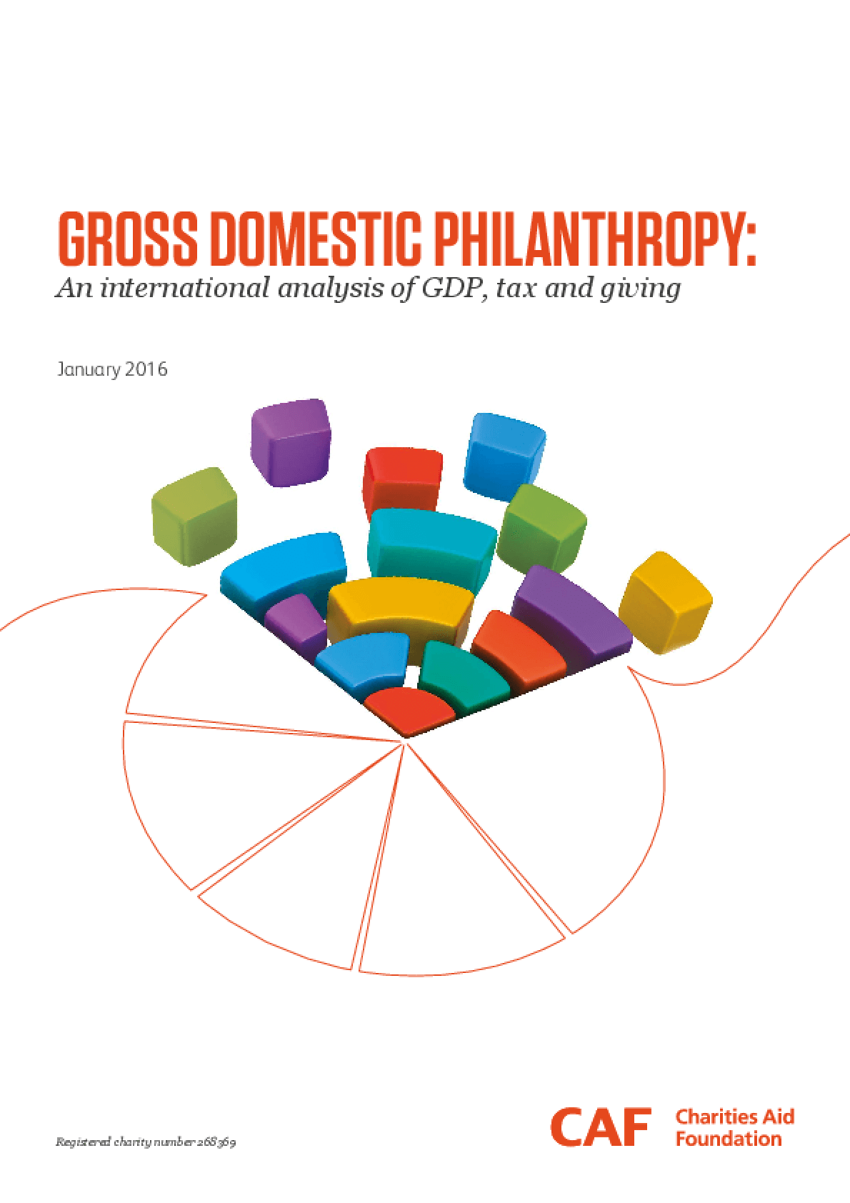 Gross Domestic Philanthropy : An International Analysis of GDP, Tax and Giving