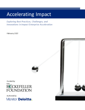 Accelerating Impact: Exploring Best Practices, Challenges, and Innovations in Impact Enterprise Acceleration