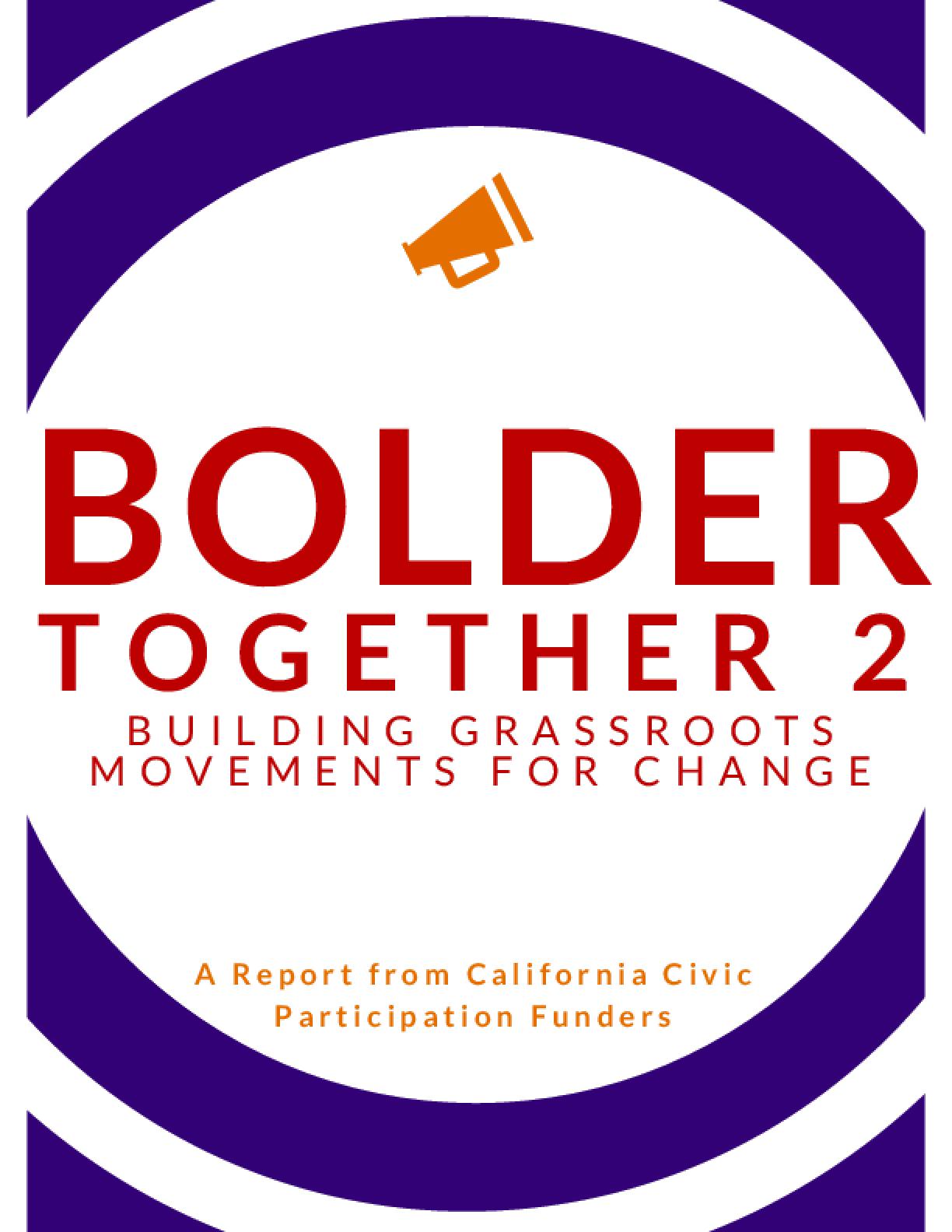 Bolder Together 2: Building Grassroots Movements for Change