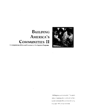 Building America's Communities II: A Compendium of Arts and Community Development Programs