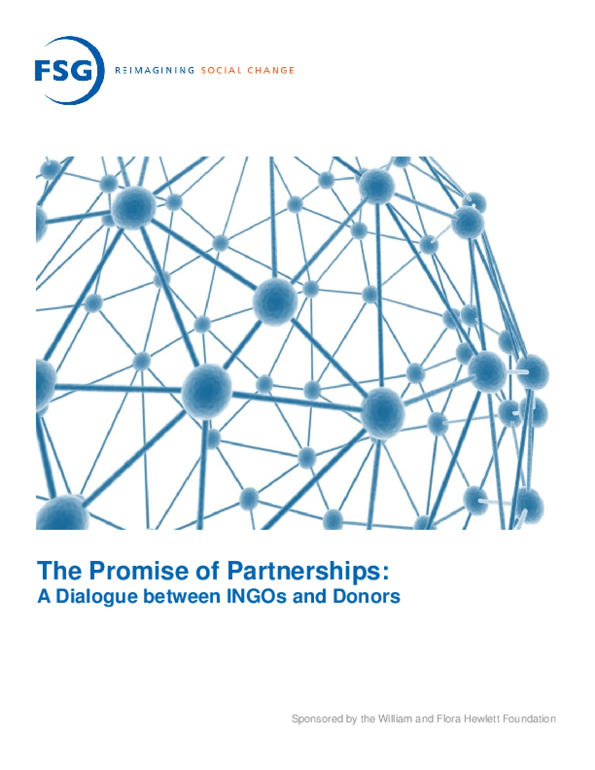 The Promise of Partnerships: a dialogue between INGOs and donors