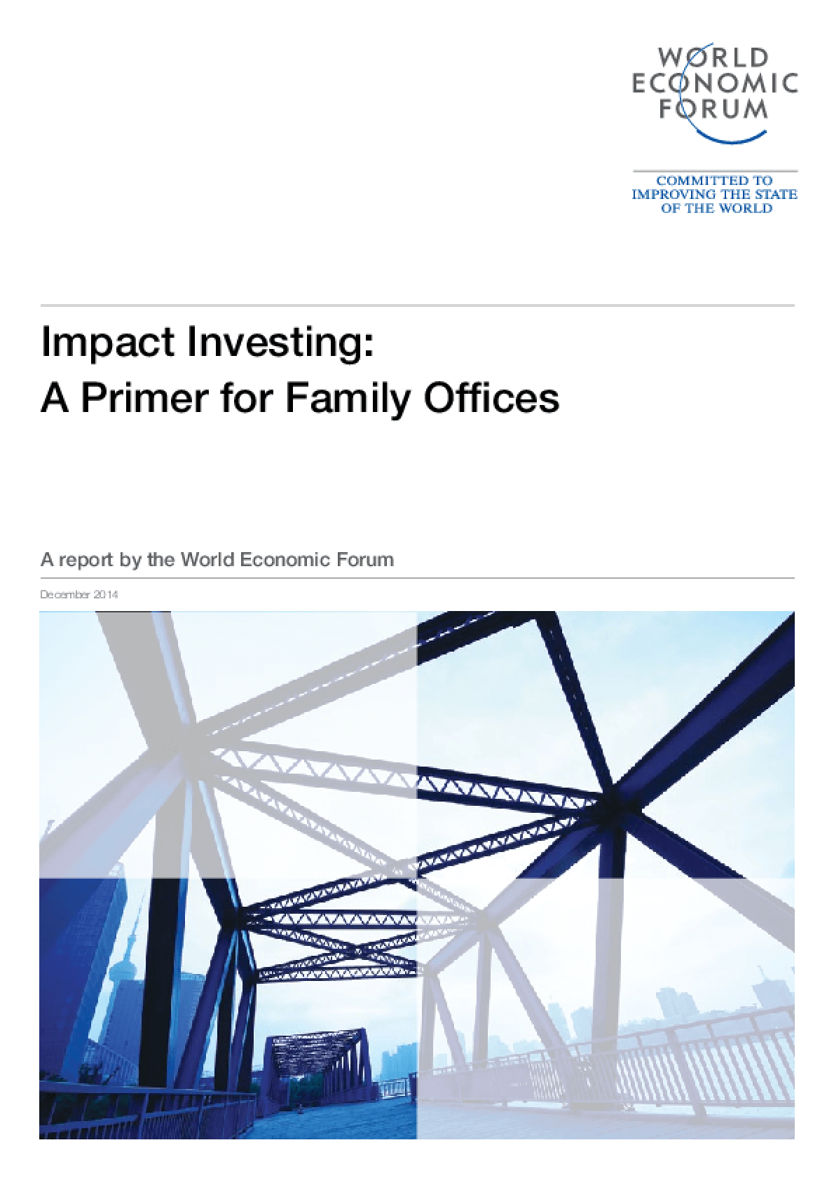 Impact Investing: a primer for family offices