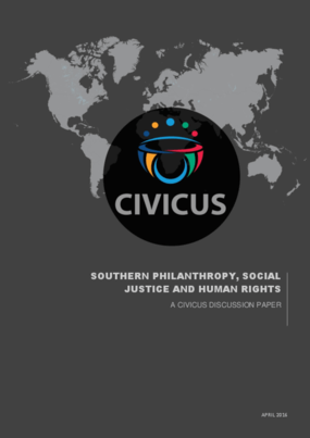 Southern Philanthropy, Social Justice and Human Rights
