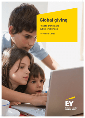 Global giving: private trends and public challenges