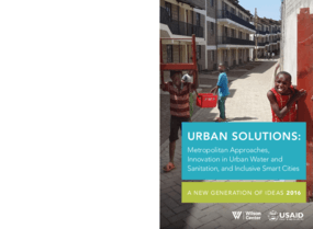Urban Solutions: Metropolitan Approaches, Innovation in Urban Water and Sanitation, and Inclusive Smart Cities