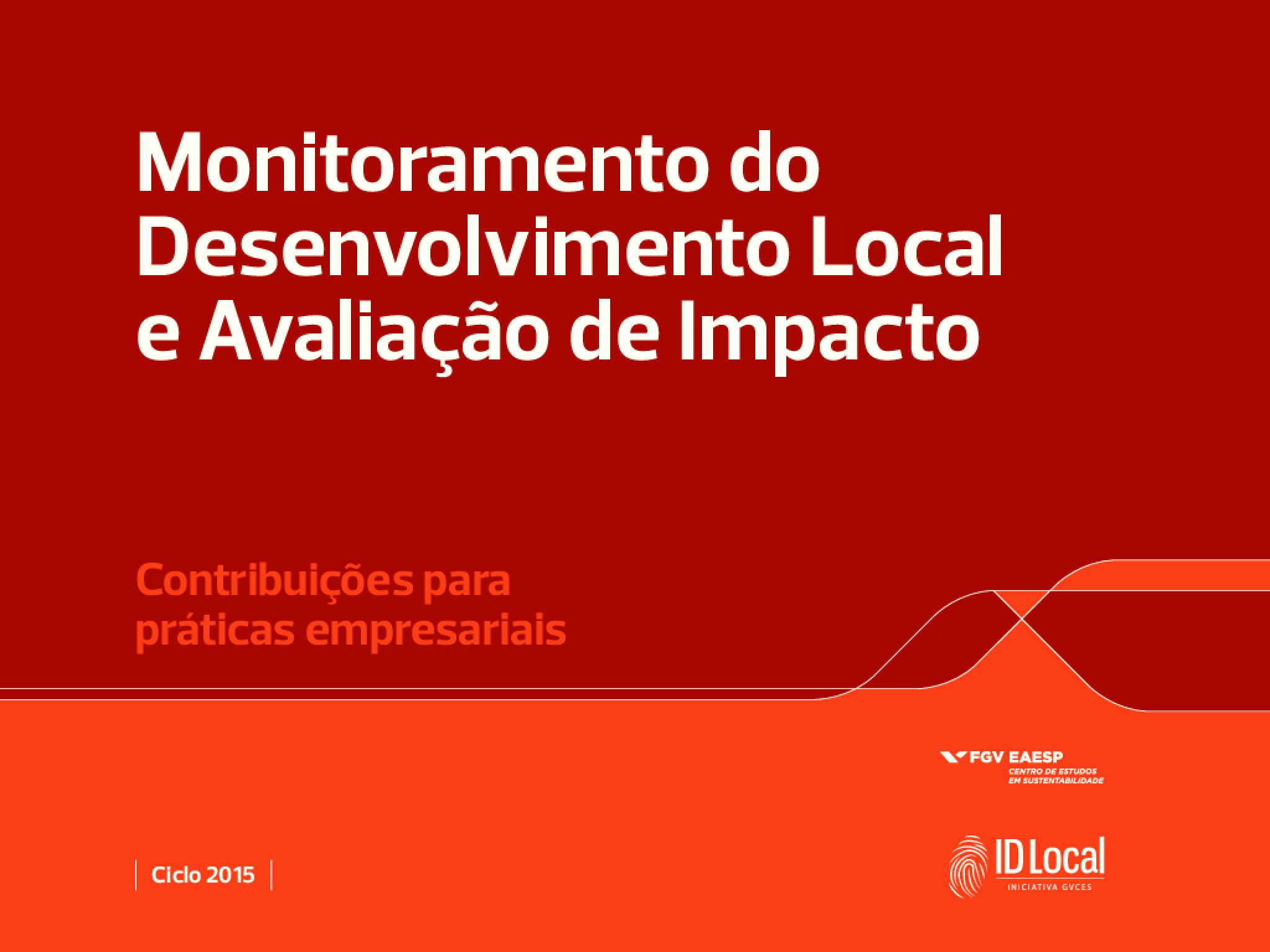 Monitoramento do Desenvolvimento Local e Avaliação de Impacto