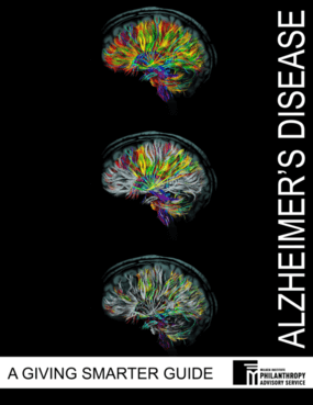Alzheimer's Disease: A Giving Smarter Guide