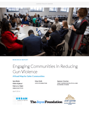 Engaging Communities in Reducing Gun Violence: A Road Map for Safer Communities